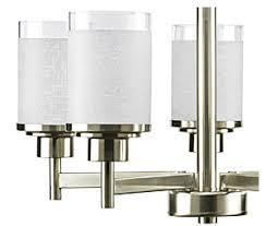 Progressive Lighting Chandeliers Progress Lighting P4459 09 5 Light Alexa Chandelier Brushed