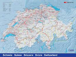 Swiss Map Swiss Rail Passes By Euro Railways
