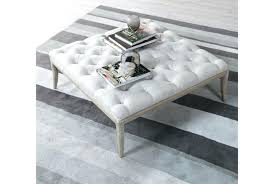 Low Ottoman Low Ottoman Coffee Table S Tufted Ottoman Coffee Table Leather