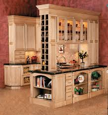 Open Shelves Under Cabinets Built In Kitchen Wine Rack Kitchen Traditional With Under Cabinet