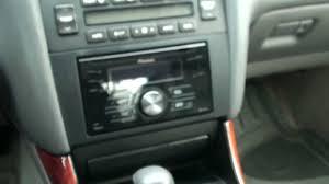lexus rx300 sat nav disc location stereo upgrade post installation part 3 youtube