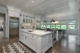 open kitchens with islands open kitchen island design two kitchen islands elabrazo info