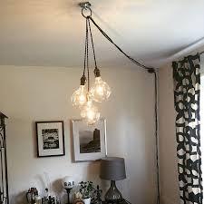 corner ceiling light fixtures excellent plug in hanging pendant 3 hang grey 1 anadolukardiyolderg