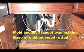 how to replace cabinet base sink how to replace rotten sink base cabinet bottom the easy way