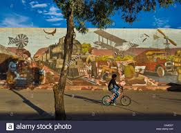 australia northern territory alice springs wall painting of 807 australia northern territory alice springs wall painting of 807 meters painted on coles supermarket by bob et kay kessing