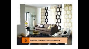Curtains For The Living Room Modern Curtain Ideas For Your Living Room Youtube