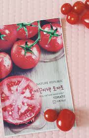 Masker Nr nature republic real nature mask sheet tomato review all about