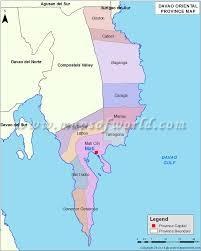 Philippine Blank Map Quiz by Davao Oriental Map Map Of Davao Oriental Province Philippines