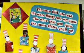 Dr Seuss Decorations Miss Lovie Dr Seuss Door Decoration I Can Read With My Eyes Shut