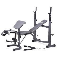 body champ olympic weight bench with preacher curl leg developer