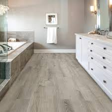 Allure Laminate Flooring Reviews Allure Isocore 8 7 In X 47 6 In Smoked Oak Silver Luxury Vinyl
