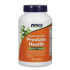 now foods clinical strength prostate health soft gel 180 count