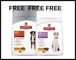 free bag of hill u0027s science diet dog or cat food at petsmart