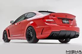 Mercedes C Class Coupe 2008 Misha Designs Reveals New Mercedes C Class Kit Autoevolution