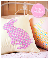 Duvet Sewing Pattern 10 Adorable Diy Pillow Tutorials Bunny Sewing Patterns And Pillows