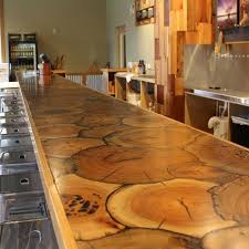 Diy End Grain End Table End Grain Sinker Cypress Bar Top Diy Bar