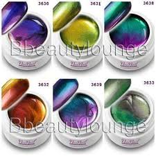 24 colors soak off metal color uv gel nail polish uv gel nail