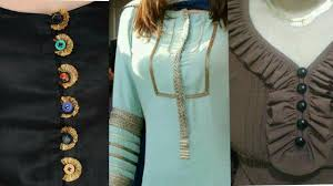 30 different styles of neck designs for kurtis suits kurtas