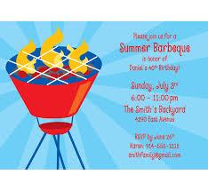 Backyard Birthday Party Invitations by Triyae Com U003d Summer Backyard Party Invitation Various Design