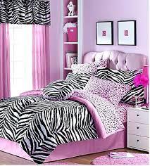 girls bedroom ideas zebra print interior design