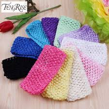 tulle spool fengrise 11 pieces crochet headband baby shower tulle spool tutu