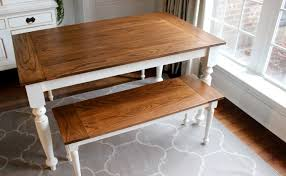easy diy farmhouse table easy diy farmhouse table lustwithalaugh design types of the