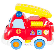 go lights for trucks fire truck toy with lights and sirens bump n go teaching english