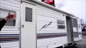 2002 salem 28fkl front kitchen slide out used travel trailer rv
