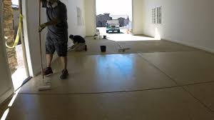 Laminate Flooring Garage Garage Flooring Full Broadcast Polyaspartic Youtube
