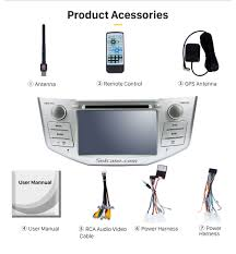 oem dvd player for 2004 2012 toyota harrier bluetooth music hd