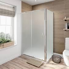 glass sliding shower doors 6mm frosted glass sliding shower enclosure 1200 x 900