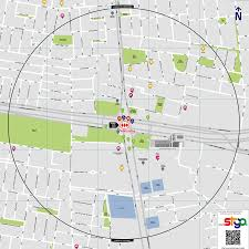 Santiago Metro Map by