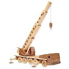 construction grade truck crane woodworking plan from wood magazine
