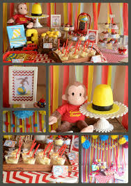 curious george party the howard family kennedie s curious george party birthday