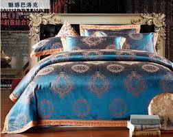 spring gold bedding sets new arrival 4pc quilt cover unique duvet