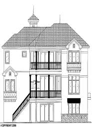 3 story house plans with elevators house plan