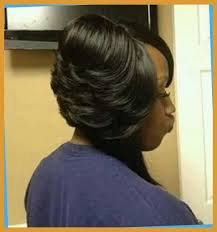 bob haircuts with feathered sides 20 layered bob hairstyles for black women the best short