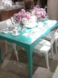 Shabby Chic White Dining Table by Top 25 Best Turquoise Kitchen Tables Ideas On Pinterest