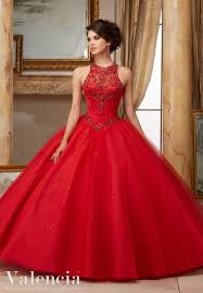 dresses for a quinceanera jeweled beaded satin bodice on tulle gown quinceanera dress