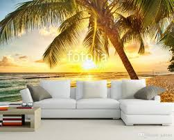 home decoration wallpapers custom home decoration wallpaper tree beach mural used in living
