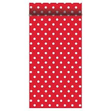 red and white table runner susy card 40001166 table decor fifties design red white table runner