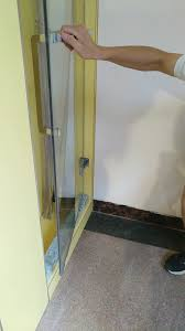 Shower Door Rubber Strip by Co Extruded Sliding Rubber Stopper For Glass Shower Door Buy