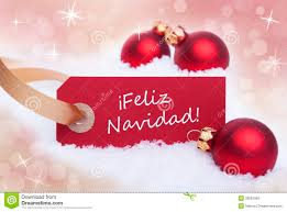 red label with feliz navidad royalty free stock images image