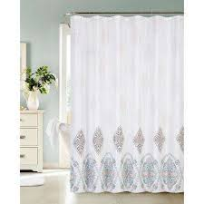 Multi Color Shower Curtains Shower Curtains Shower Accessories The Home Depot