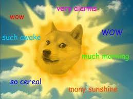 Dogecoin Meme - dogecoin a cryptocurrency created as a joke about a dog meme has a