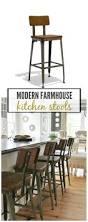 modern farmhouse kitchen barstools revealed city farmhouse