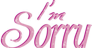 i am sorry to display pictures of sorry cards really sorry