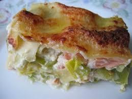 cuisiner du saumon recette de lasagnes saumon et poireaux la recette facile