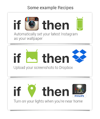 ifttt android ifttt releases for android puts the and your android to