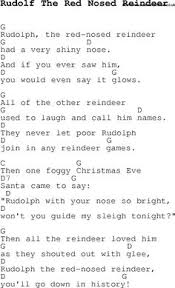 christmas songs and carols lyrics with chords for guitar banjo